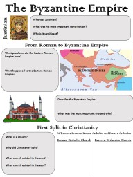 The Byzantine Empire Justinian