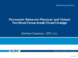 Personnel Behavior Physical and