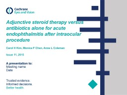 Adjunctive steroid therapy versus antibiotics alone for acute