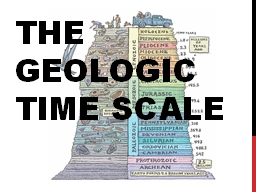 The Geologic Time Scale Mass extinctions
