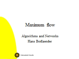 Maximum flow Algorithms and Networks