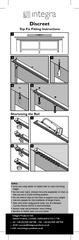 Discreet Top Fix Fitting Instructions Integra Products