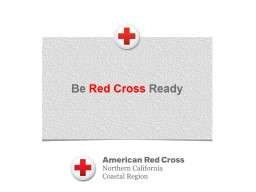 Be  Red Cross  Ready What is the Red Cross?