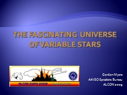 The Fascinating universe of variable stars