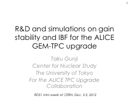 R& D and simulations