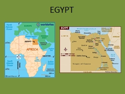 EGYPT Basic Facts Size:  386,000 square miles (about the size of Texas and New Mexico put together)