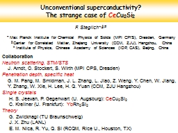 Unconventional superconductivity?                           The strange case of