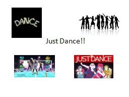 Just Dance!! Warm Up and Cool Down