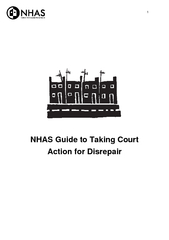 NHAS Guide to Taking Court Action for D isrepair  Intr