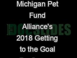 TNR FAQs and Answers Michigan Pet Fund Alliance's 2018 Getting to the Goal Conference and Best Frie