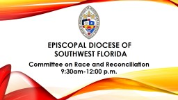 Episcopal Diocese of       Southwest Florida