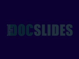 Module 7 Cleaning & Disinfection