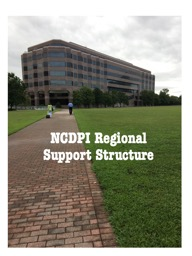NCDPI Regional Support Structure