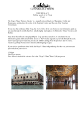 DOGES PALACE And the secrets of its Prison  hour The D