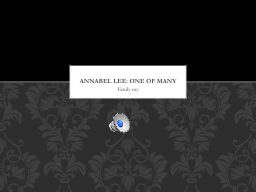 Emily ray Annabel Lee : one