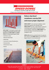 Reduce slip dowel installation costs by  and ensure pr