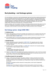 Page  of  Roof plumbing  roof drainage systems For new