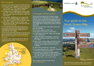 Your guide to the South Downs Way  C Hulse Looking aft