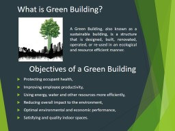 What  is  Green   Building