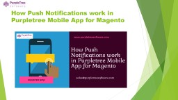 How Push Notifications work in Purpletree Mobile App for Magento