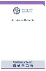 Survivors Benets Contacting Social Security Visit our website Our website www