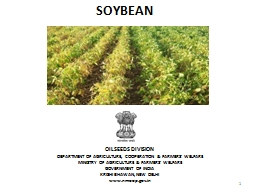 1 SOYBEAN OILSEEDS DIVISION
