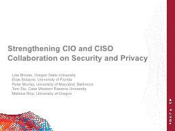 Strengthening CIO and CISO Collaboration on Security and