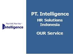 1 PT. Intelligence HR Solutions