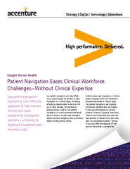 Patient Navigation Eases Clinical Workforce Challenges
