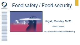 Food  safety  / Food  security