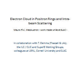 Electron Cloud in Positron Rings and