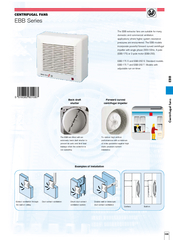Centrifugal fans EBB  The EBB extractor fans are suita PowerPoint PPT Presentation