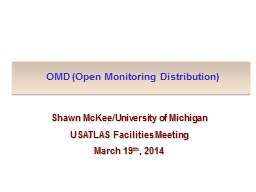 OMD (Open Monitoring Distribution)