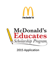 Application  Page  Program Highlights D franchisees h