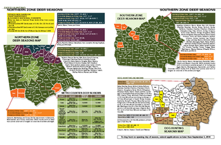 NORTHERN ZONE DEER SEASONS MAP Bartow But Carroll Chat