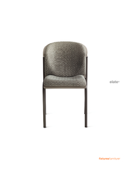 elate   Contoured seat and sculpted back make elate a