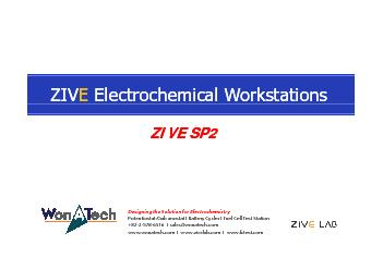 Electrochemical WorkstationsElectrochemical Workstations