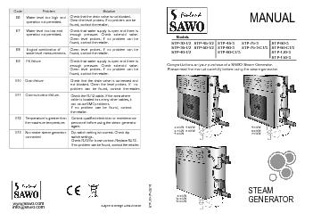 www.sawo.comSubject to change without notice.MANUAL