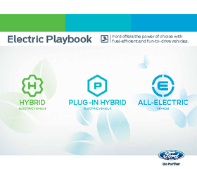 Electric Playbook Ford oers the power of choice with f