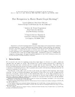 In Intelligent Biometric Techniques in Fingerprint and Face Recognition eds