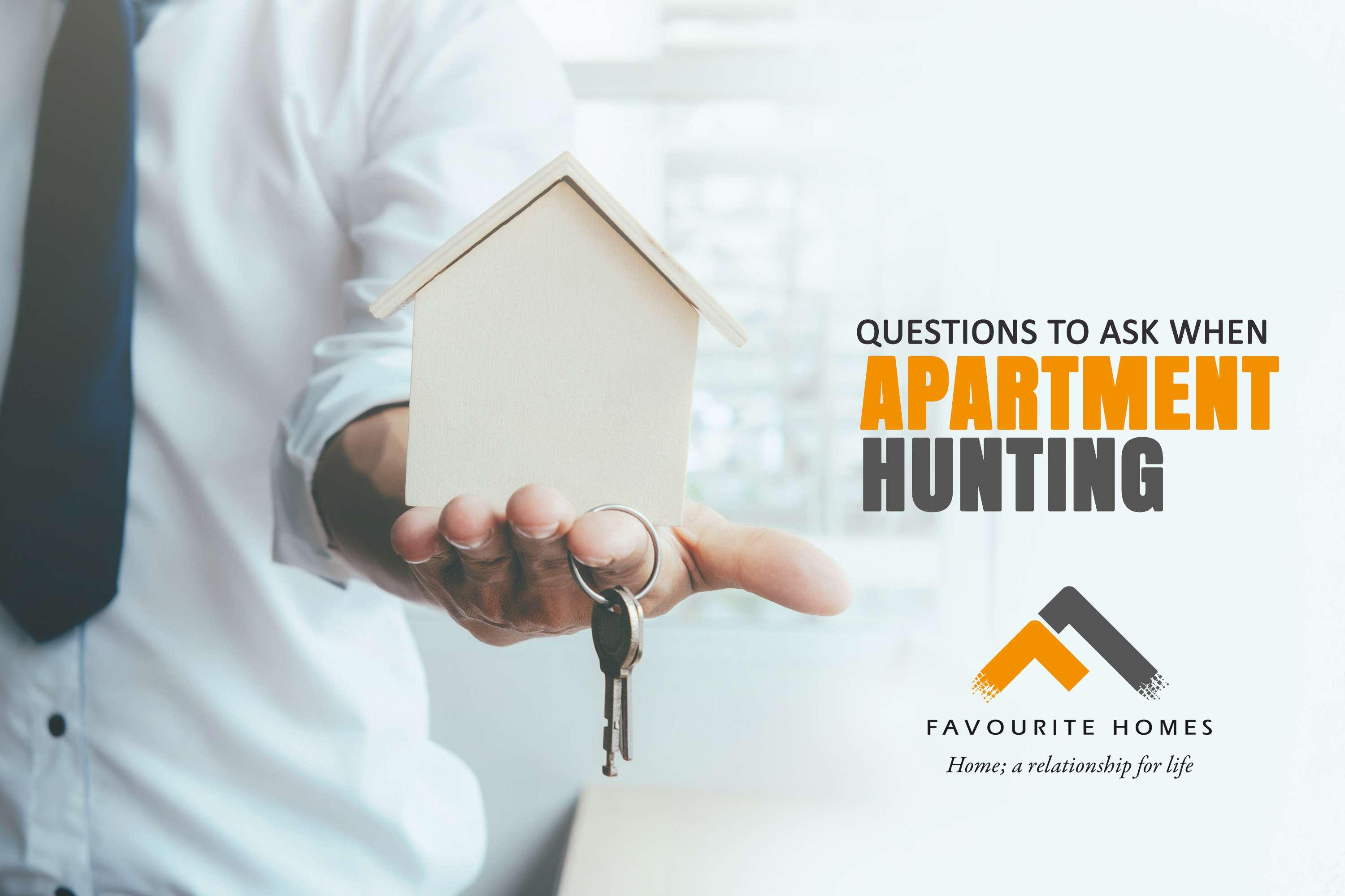 Questions to Ask when Apartment Hunting   Favourite Homes