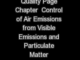 Texas Commission on Environmental Quality Page Chapter  Control of Air Emissions from Visible Emissions and Particulate Matter SUBCHAPTER B OUTDOOR BURNING