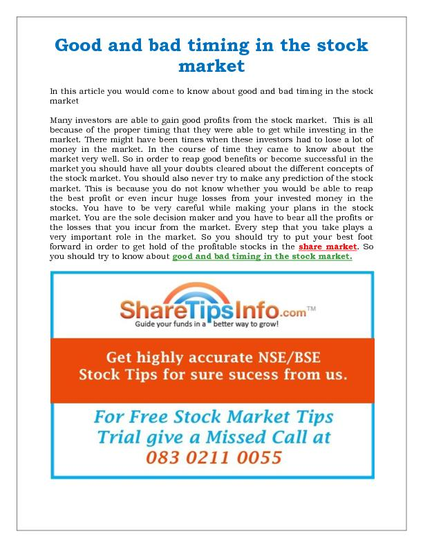 Indian stock market trading tips for daily gains