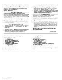 HIGHLIGHTS OF PRESCRIBING INFORMATIONThese highlights do not include a