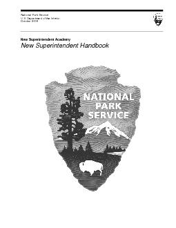 National Park Service U.S. Department of the Interior October 2008 New