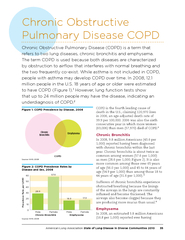 American Lung Association State of Lung Disease in Div
