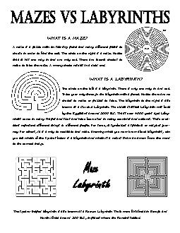 WHAT IS A MAZE?