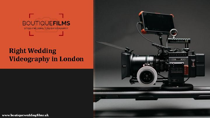 Right Wedding Videography in London