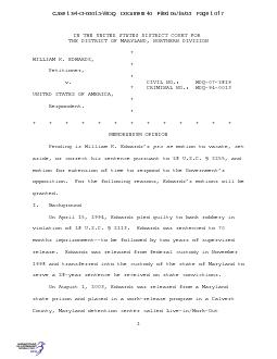 Case 1:94-cr-00013-WDQ   Document 40   Filed 06/19/08   Page 6 of 7 ..