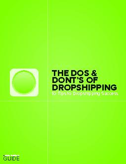 10 Tips to Dropshipping Success